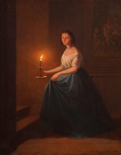 Johann Mongels CULVERHOUSE (1820-1891) - Bedtime