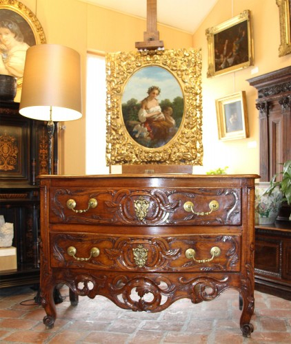 Nîmes chest of drawers 18th century  - Furniture Style Louis XV