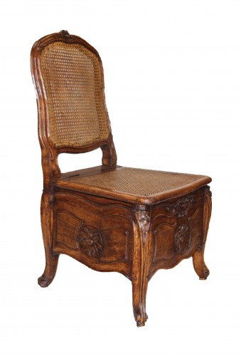 Commode Chair Stamped Etienne Meunier