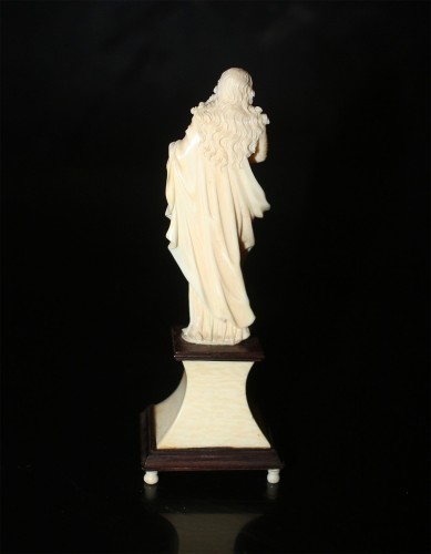 Religious Antiques  - A late 18th early 19th century Dieppe ivory sculpture