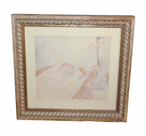 Jules PASCIN (1885-1930) - Paintings & Drawings Style