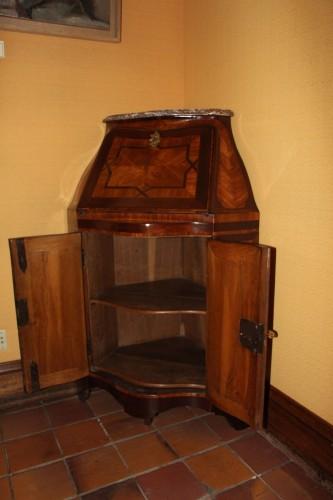 Furniture  - Secretary In Corner Louis XV Period