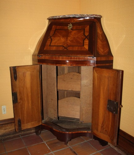 Secretary In Corner Louis XV Period -