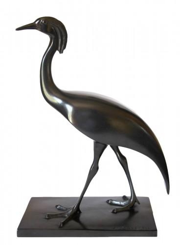 Ashen crane - Armand Petersen (1891-1969)