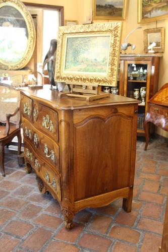 Furniture  - Louis XV Commode In Walnut