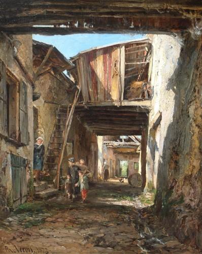 Alexandre Rene VERON (1826-1897)- Crécy-en-Brie
