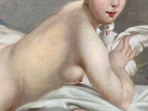 Odalisque - French school of the 19th - Paintings & Drawings Style Napoléon III