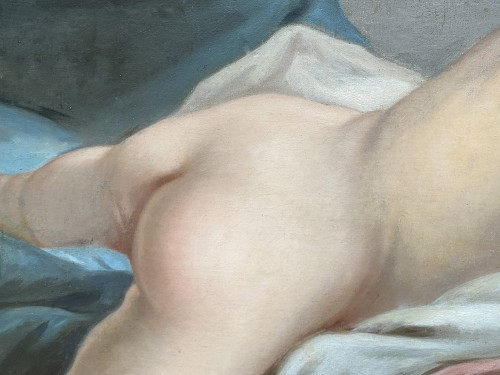 Odalisque - French school of the 19th -
