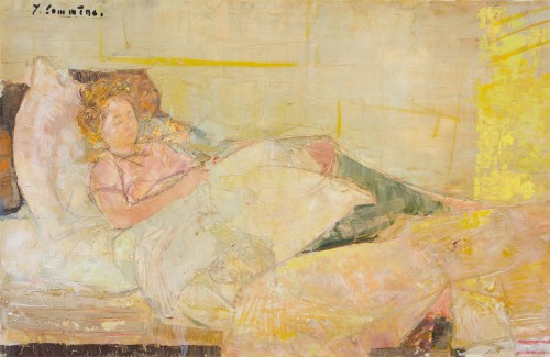 Jean Commère (1920-1986) -  Sleeping Suzette, 1960