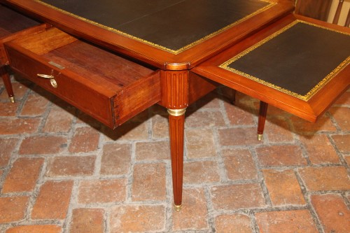 Furniture  - Louis XVI period desk in mahogany,