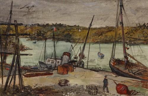 Jean Commère (1920-1986)  - Doëlan, 1949