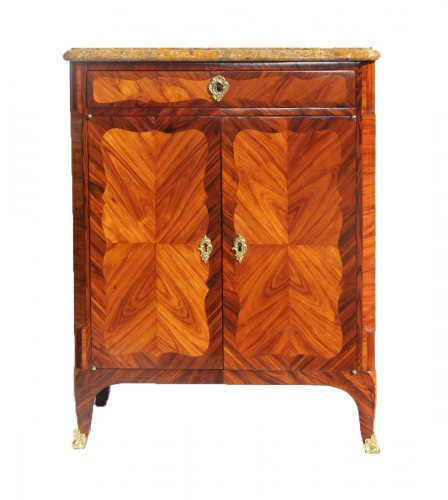 Small piece of furniture in rosewood  - Furniture Style Louis XV