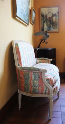 Seating  - Pair of Louis XVI basket sofas