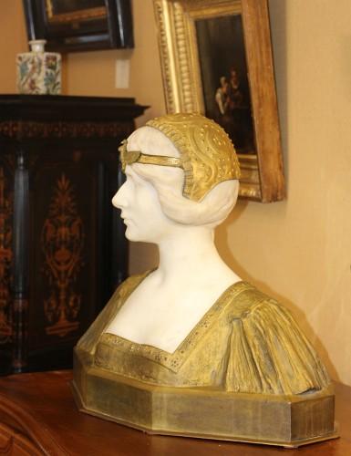 Sculpture  - Egyptian-dressed - Paul Louis LOISEAU-ROUSSEAU (1861-1927)