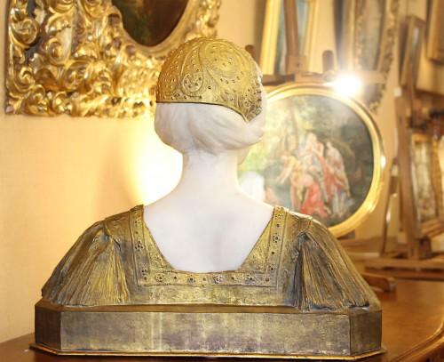Art nouveau - Egyptian-dressed - Paul Louis LOISEAU-ROUSSEAU (1861-1927)