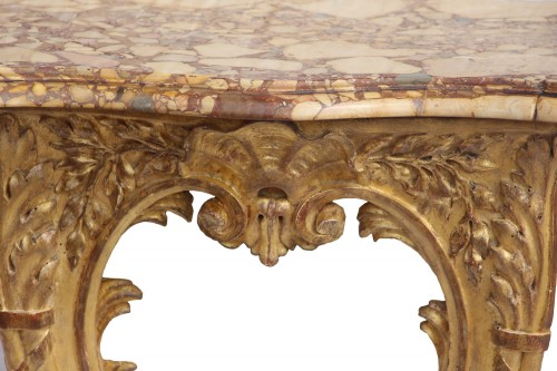 Pair Of Louis XV Period Consoles - Furniture Style Louis XV