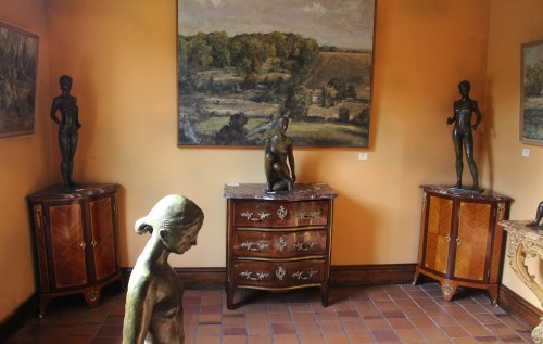 Furniture  - Pair Of Louis XVI Corner Cabinets