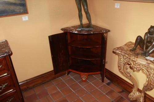 Pair Of Louis XVI Corner Cabinets -