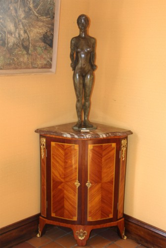 Pair Of Louis XVI Corner Cabinets - Louis XVI