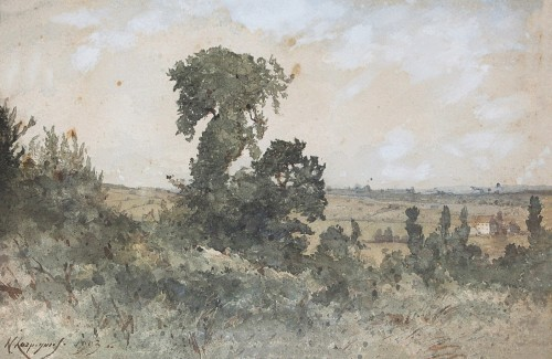 Henri Joseph HARPIGNIES (1819-1916)