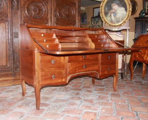 "Furniture  - Large sloping desk called ""donkey's back"""
