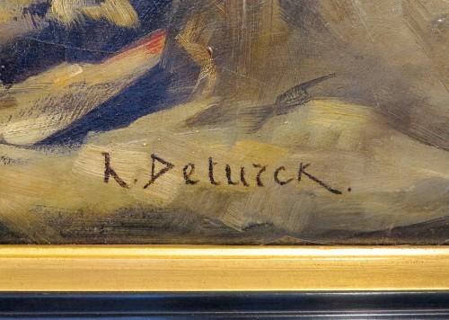 Paintings & Drawings  - Henri DETURCK - Study head