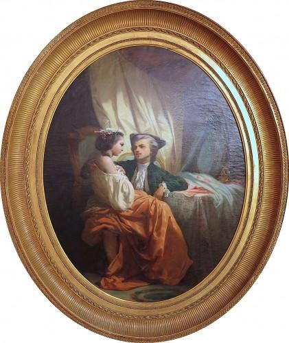 Jules Alexandre DUVAL-LECAMUS - A tête-à-tête