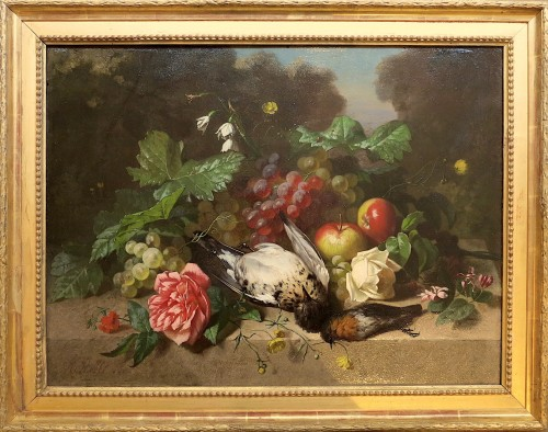 Henri ROBBE - Birds, flowers and fruits