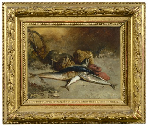 Eugène Modeste LE POITTEVIN (1806-1870) - Channel fishes