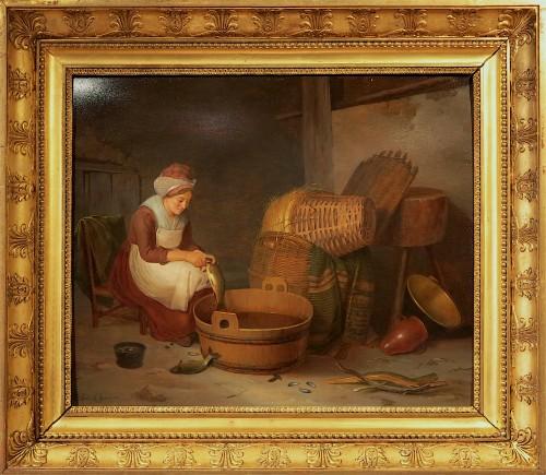 Jenny LEGRAND - The fishmonger