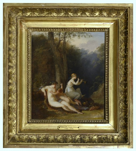 Jacques-Antoine VALLIN (around 1760-after 1831) - Pair of oils on panels