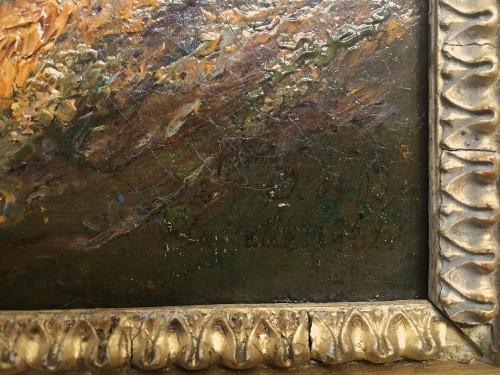 Paintings & Drawings  - Louise-Joséphine SARAZIN de BELMONT (1790-1870) - View of la Celle Saint Cloud