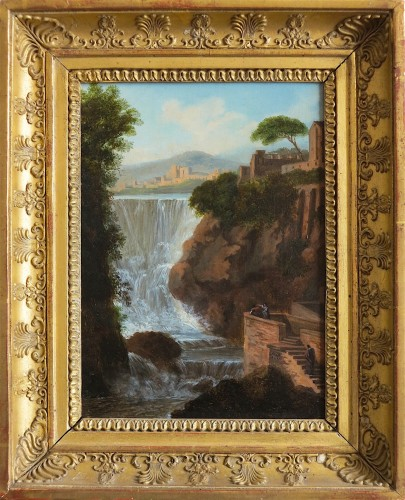 Pierre Antoine MARCHAIS (1763-1859), attributed to - Tivoli waterfall