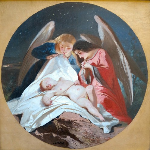 Paul Joseph CARPAY (1822-1892) - One more angel in Heaven - Paintings & Drawings Style
