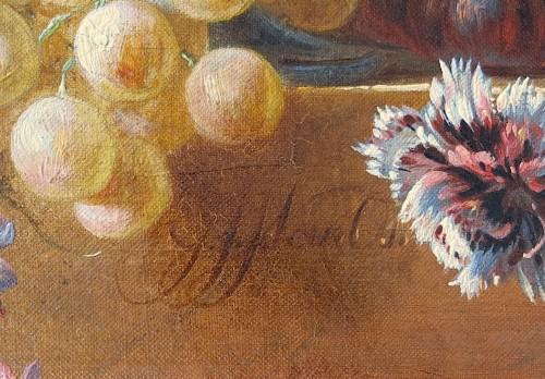 Paintings & Drawings  - Georgius Jacobus van Os (1782-1861) - Fruits, flowers and gray partridge