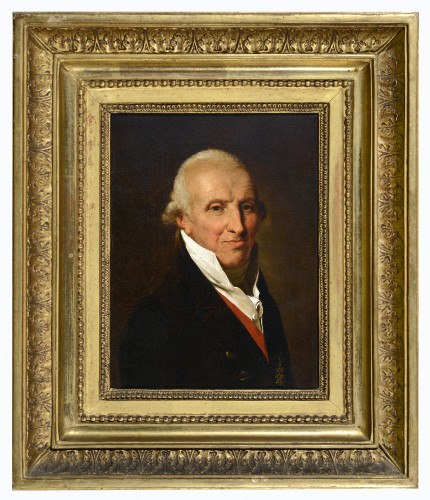 Circle of Louis Léopold BOILLY (1761-1865)-Portrait of the Duke of Havré