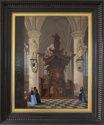 Chair of truth of the cathedral of Brussels - Victor Jules Genisson (1805-1860)