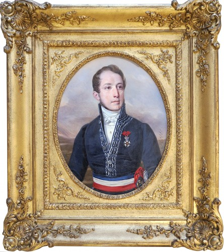 Alexandre HESSE (1806-1879) - Portrait of Ulysse RENOU, mayor of Vendôme