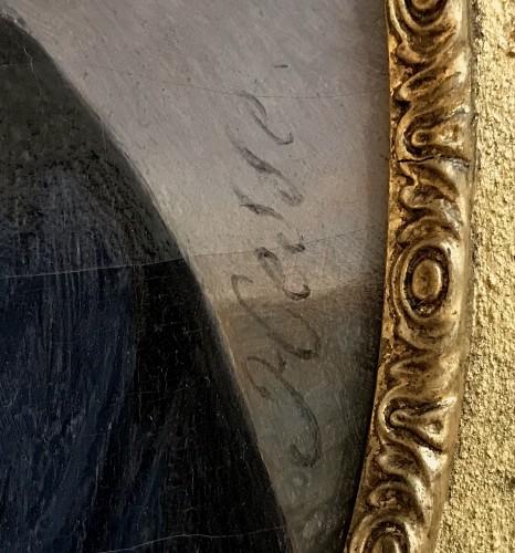 Paintings & Drawings  - Alexandre HESSE (1806-1879) - Portrait of Ulysse RENOU, mayor of Vendôme