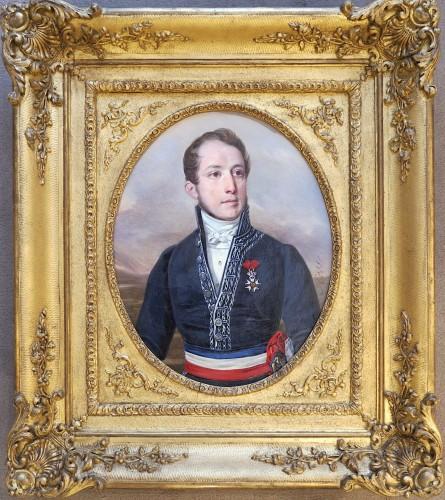 Alexandre HESSE (1806-1879) - Portrait of Ulysse RENOU, mayor of Vendôme -
