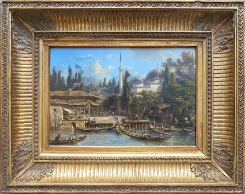 Eugène Flandin (1809-1889) - Constantinople: The Bechik-tach Scale