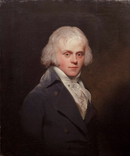 Sir Henry William BEECHEY (1753–1839) - Portrait of a man - Paintings & Drawings Style Directoire