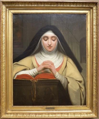 Raymond-Auguste-Quinsac MONVOISIN (1790-1870) - St. Therese