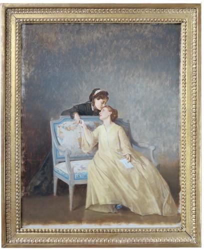 Auguste TOULMOUCHE (1829 – 1890) - The letter