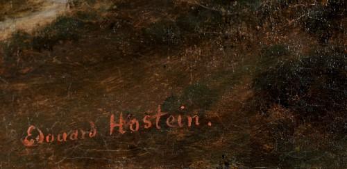 Édouard HOSTEIN (1804–1889) - Tivoli view of the Maecenas Palace -