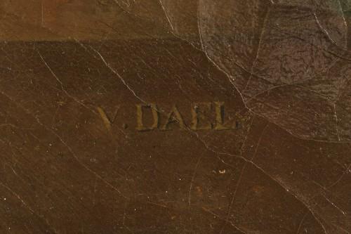 Jean-François VAN DAEL (1764-1840) - Grapes, peaches, and plums -