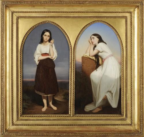 Workshop of  Ary SCHEFFER (1795-1858) - Mignon