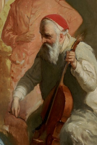 Paintings & Drawings  - French School of the 19th century - Palestrina