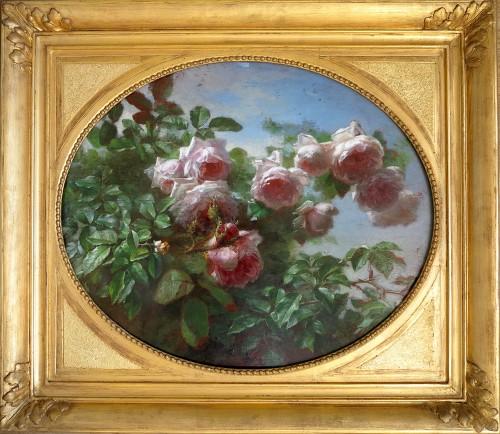 André PERRACHON (1828-1908) - Roses