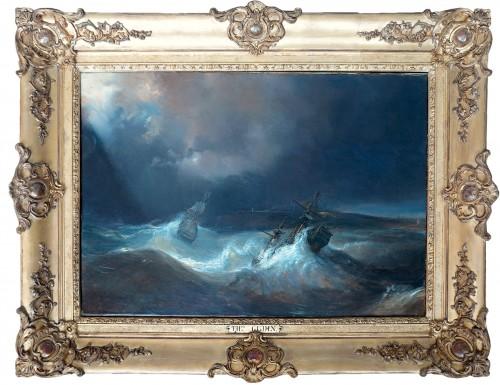 Théodore GUDIN (1802-1880) - The Tempest